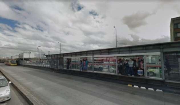 Estación Ricaurte, de Transmilenio