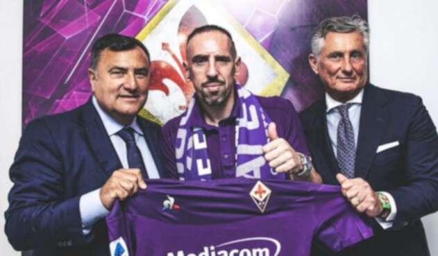 Ribery, nuevo jugador de la Fiorentina