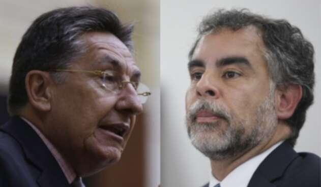 Néstor Humberto Martínez y Armando Benedetti.
