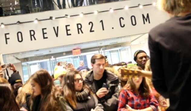 Forever 21 está muy cerca de ser declarado en bancarrota.
