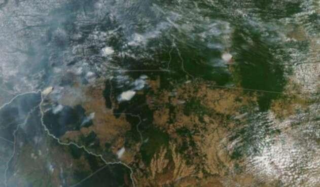 Amazonas imagen satelital