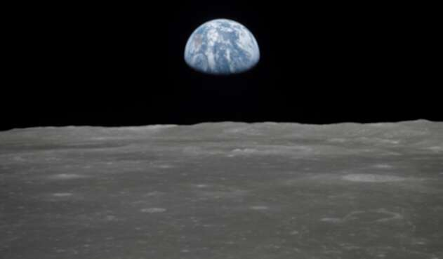 Foto de La Tierra tomada por la NASA