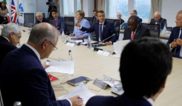 Reunión en Cumbre del G7