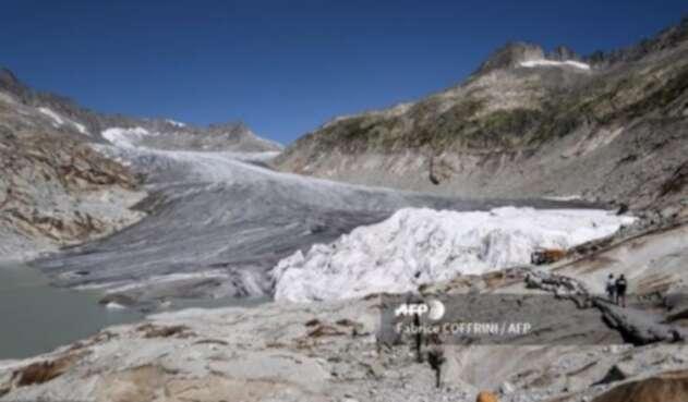 Glaciares en Suiza