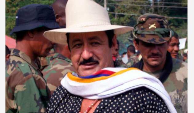 El jefe paramilitar Hernán Giraldo.