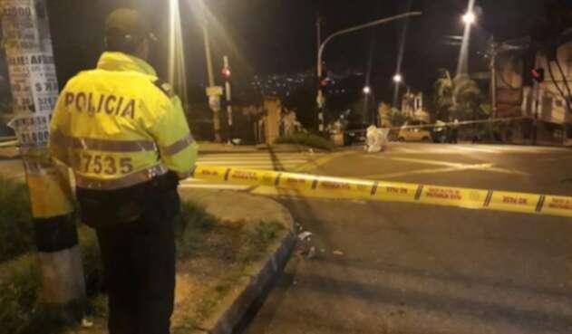 Sicarios asesinaron a pareja de hermanos en el barrio Manrique de Medellín