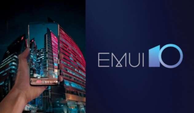 EMUI 10 en el Huawei P30