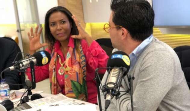 Carmen Inés Vásquez Camacho, ministra de Cultura del gobierno Duque