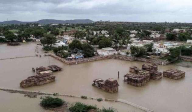 Inundaciones en India.