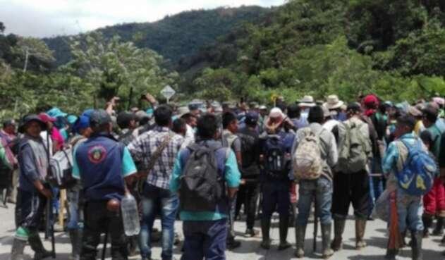 La ONIC denuncia dificil situacion de pueblos indigenas