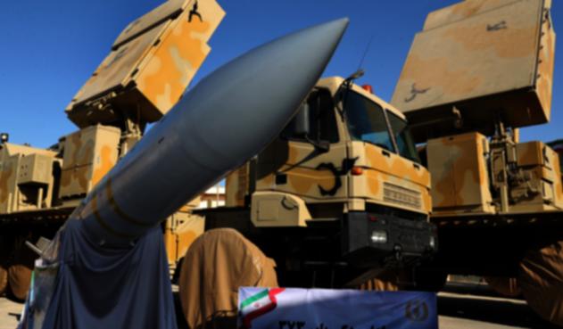 Misil Guardia Revolucionaria de Irán