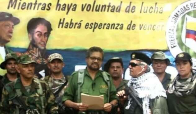 Iván Márquez, Jesús Santrich y alias El Paisa