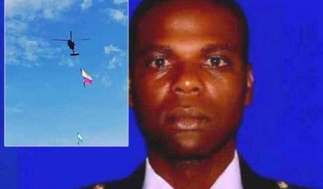 Jesús Lacides Mosquera López, suboficial de la FAC fallecido en revista aérea en Medellín