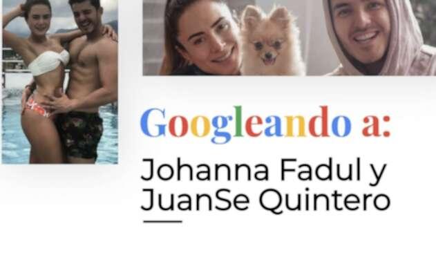 La pareja de artistas se le midió a Googleando, de La FM.