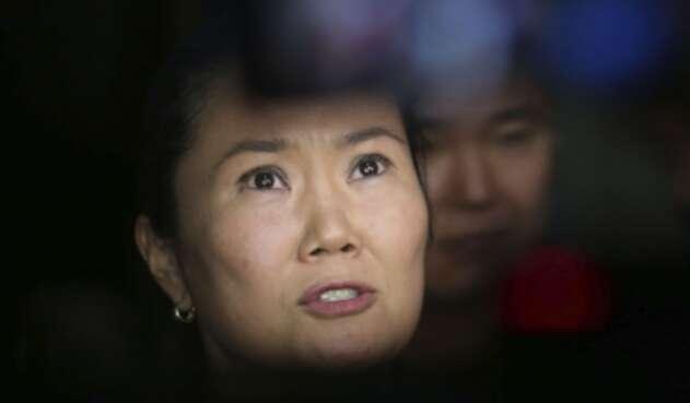 Keiko Fujimori es hija del expresidente Alberto Fujimori.