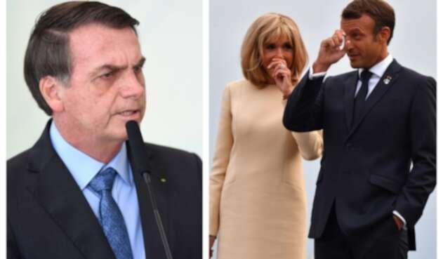 Bolsonaro Se Burla De La Esposa Del Presidente Macron Por Su Fisico La Fm