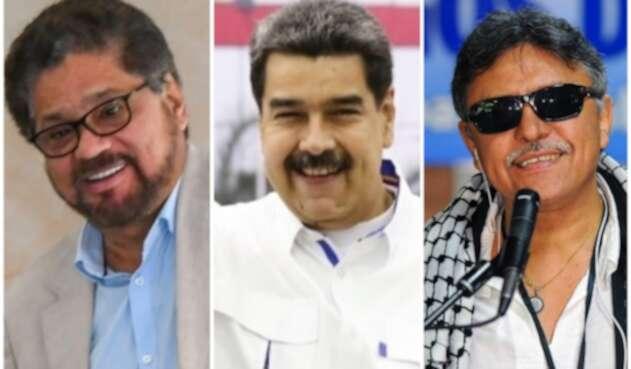 'Iván Márquez', Maduro y 'Santrich'