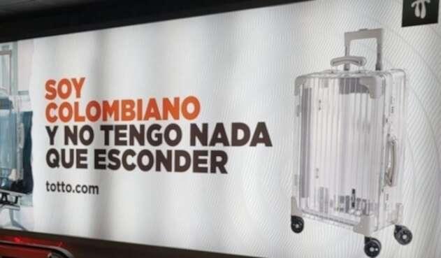Campaña de Totto en los aeropuertos del país