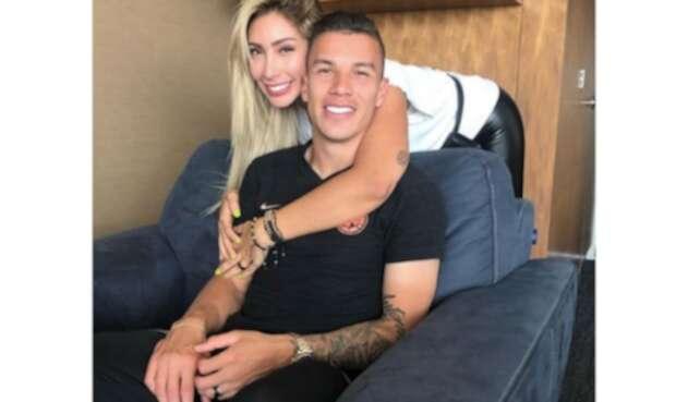 Mateus Uribe y Cindy Alvarez