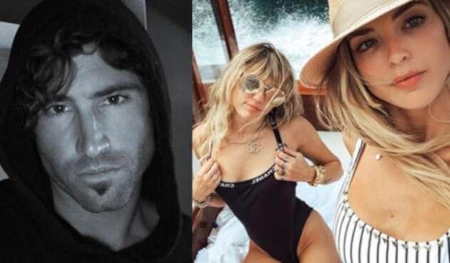 El hijo de Caitlyn Jenner bromeó respecto a las fotos que salieron a la luz de Cyrus dándose un beso con su exesposa.