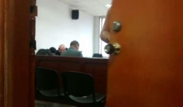 Audiencia contra exsargento  Richard Antonio Pérez.