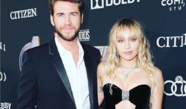 Miley Cyrus yLiam Hemsworth