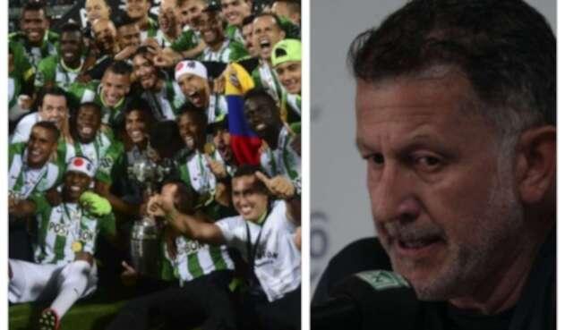 Atlético Nacional / Juan Carlos Osorio.