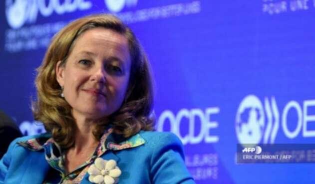 Nadia Calviño,ministra de Economía española