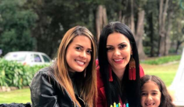 Nataly Arbeláez es la hija de Marcela Posada