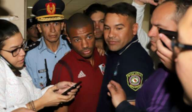 Nicolás de la Cruz fue detenido en concentración de River Plate