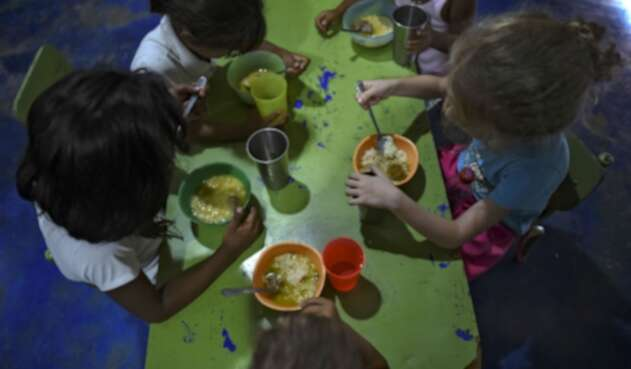Crisis en Venezuela afecta a niños.