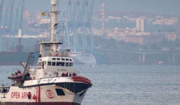 """El buque humanitario """"Open Arms"""" puede entrar en aguas territoriales de Italia"""