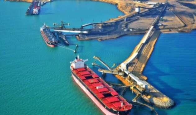 Operación de Cerrejón en Puerto Bolívar