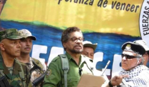 'Iván Márquez', 'Santrich' y 'El Paisa'
