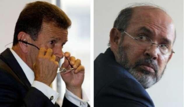 Carlos Palacino y Francisco Ricaurte