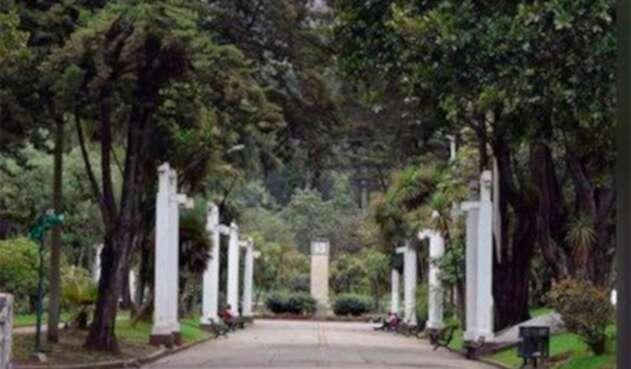El Parque Nacional, en Bogotá