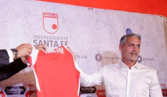 Patricio Camps, técnico contratado por Santa Fe