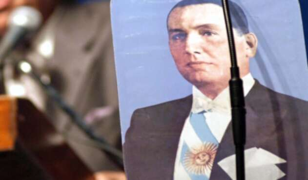 Juan Domingo Perón, expresidente argentino.