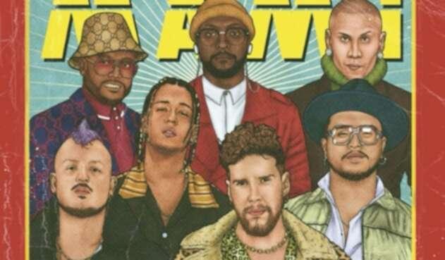 Piso 21 y Black Eyed Peas