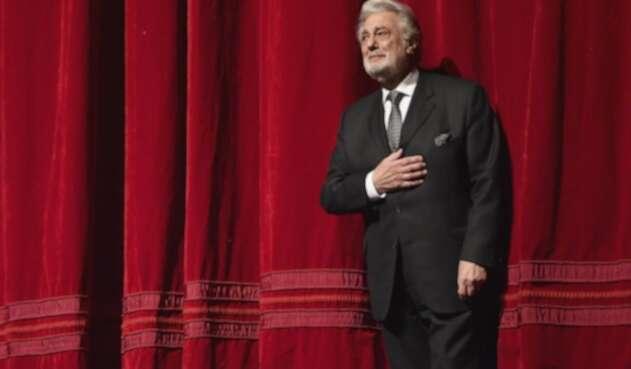 Plácido domingo, tenor español.