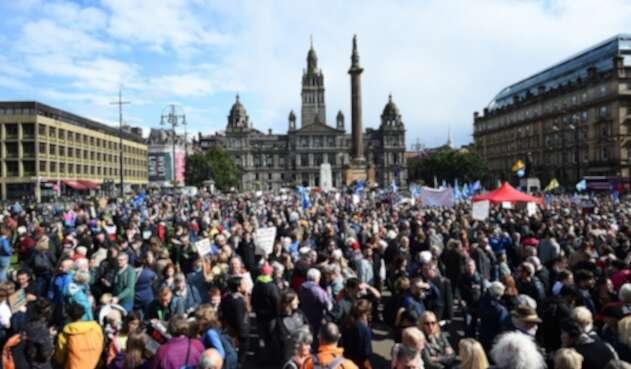 Protestas por el Brexit
