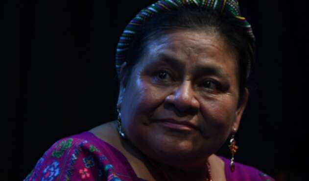 Rigoberta Menchú, premio Nobel de Paz