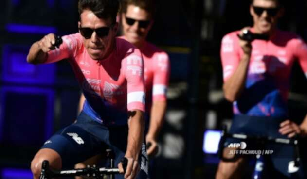 Rigoberto Urán, ciclista colombiano del Education First