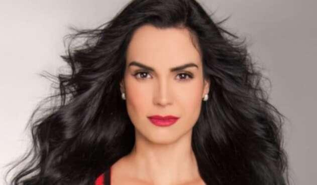 Scarlet Ortiz, actriz venezolana.