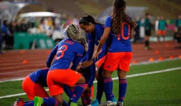 La Selección Colombia femenina en Panamericanos gana el oro.