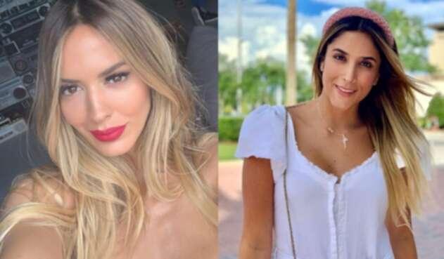 La modelo respondió a un comentario con un halago para la expareja de James Rodríguez.