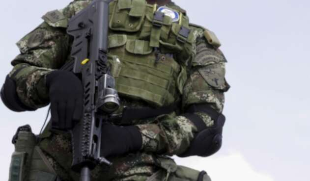 Soldado del Ejército Nacional de Colombia