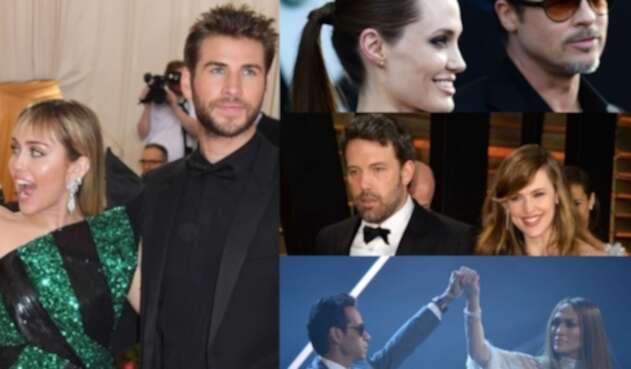 Top de famosos que sorprendieron al mundo con su divorcio