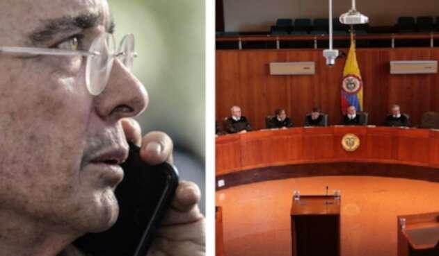 Álvaro Uribe y la Corte Suprema de Justicia