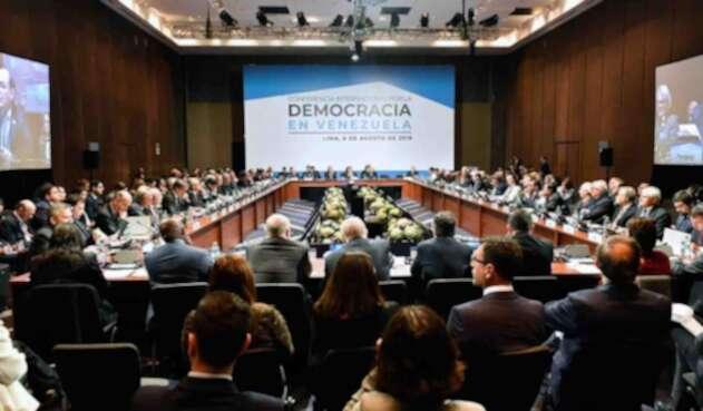 Conferencia Internacional por la Democracia en Venezuela
